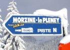 Snow in Morzine